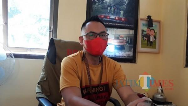 Kabid Kedaruratan dan Logistik BPBD Kabupaten Malang Sadono Irawan (foto: Hendra Saputra/MalangTIMES)