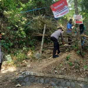 Jalur Pendakian Gunung Klotok Kediri Ditutup Sementara
