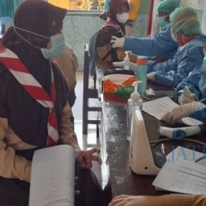 Peringati Hari Pramuka, Kwarcab Kota Madiun Isi Kegiatan dengan Vaksinasi Massal