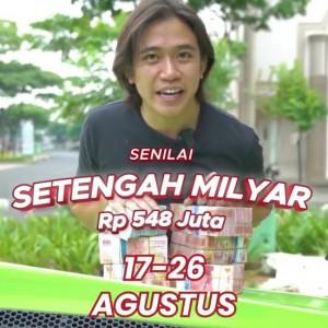 HUT Republik Indonesia, Andre Kokois Bagi-Bagi Modal  Rp 500 Juta