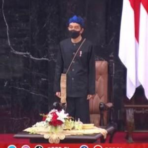 Dipakai Presiden Jokowi di Sidang Tahunan MPR, Berikut Makna Baju Adat Suku Baduy