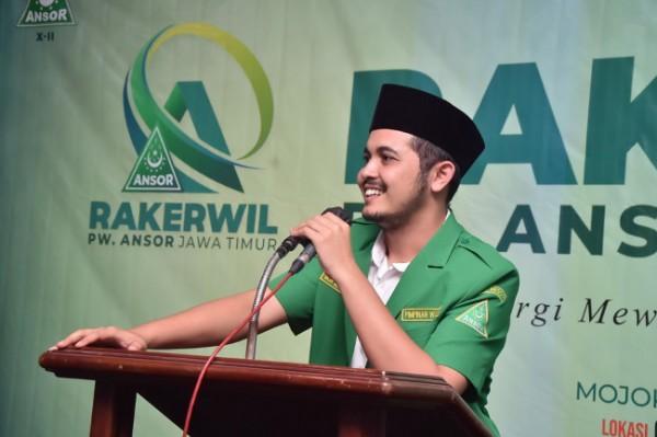 Wakil Ketua PW GP Ansor Jatim, Habib Mahdi al Khirid (foto: istimewa)