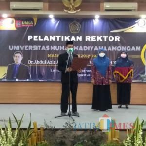 Jadi Rektor Kampus Muhammadiyah Lamongan, Aziz Fokus Perbaiki Tata Kelola dan Penguatan SDM
