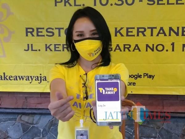 Aplikasi Take Away, aplikasi dari Arek Malang (Anggara Sudiongko/MALANGTIMES)