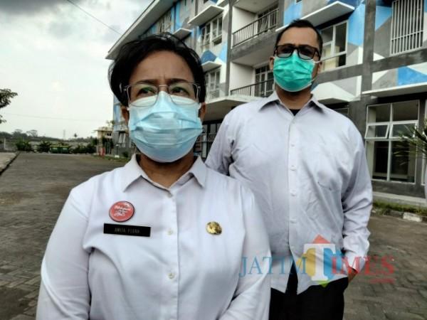 Kabid Yankes Dinkes Kabupaten Malanf, Anita Flora.(Riski Wijaya/MalangTIMES)..