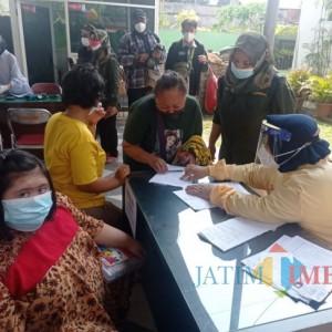 Tingkatkan Kesadaran Vaksin, Dinsos-P3AP2KB Kota Malang Getol Sosialisasi