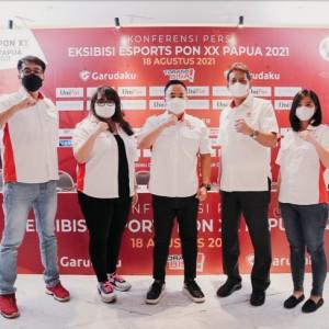 Jelang PON XX Papua 2021, PBESI Perkenalkan Platform Resmi Esports: Garudaku