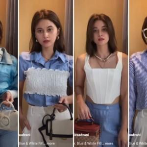 Inspirasi Styling Blue and White Outfit ala Influencer, Simpel nan Kece Maksimal!