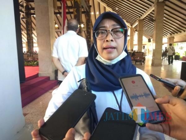 Inspektur Kabupaten Malang, Tridiyah Maestuti.(Foto: Riski Wijaya/MalangTIMES).