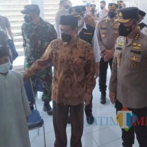 Irwasum Polri Tinjau Pelaksanaan Vaksinasi di UIN Malang