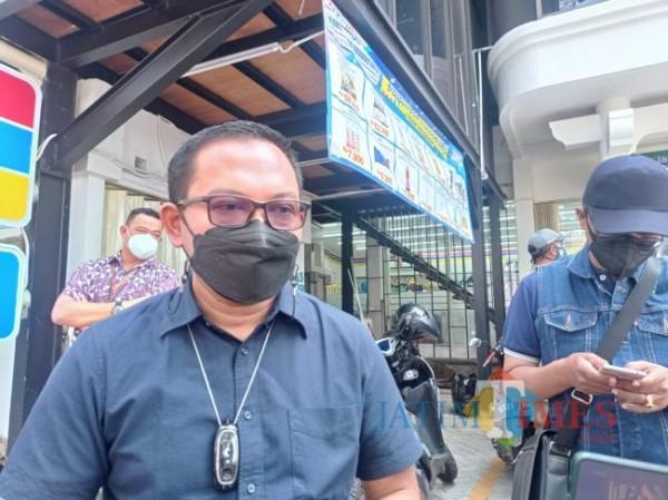 Kepala Bapenda Kota Malang, Handi Priyanto (Hendra Saputra/MalangTIMES)