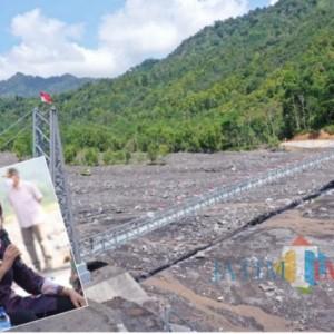 Jembatan Gantung Sepanjang 150 Meter Selesai, Ini Pesan Wabup Lumajang