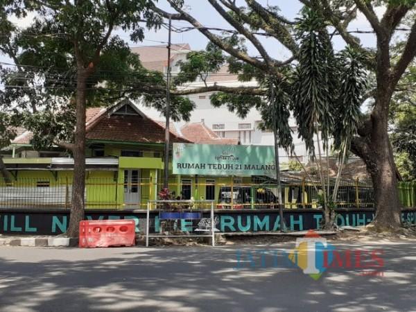 Rumah Teduh Malang yang menampung pasien isolasi Covid-19. (Foto: Arifina Cahyanti Firdausi/MalangTIMES).