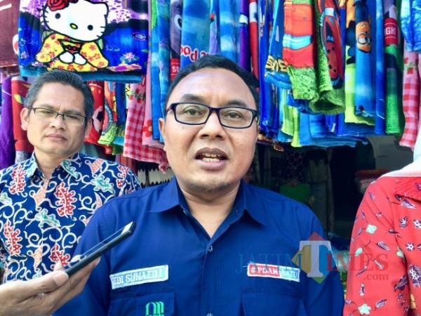 Direktur Perumdam Among Tirto Kota Batu Sunaedi. (Foto: Irsya Richa/MalangTIMES)