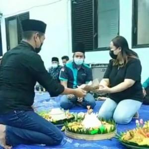 HUT Ke-76 RI, Pemuda Kelurahan Ngampel Lakukan Doa Bersama Lintas Agama