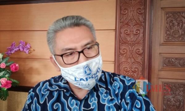 Kepala Dinas Pendidikan Kabupaten Malang, Rahmat Hardijono.(Foto: Riski Wijaya/MalangTIMES).