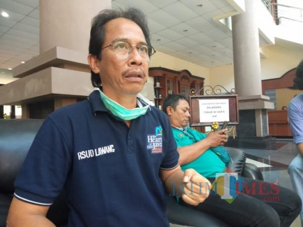 Kepala Dinkes Kabupaten Malang Arbani Mukti Wibowo.(Foto: Riski Wijaya/MalangTIMES).