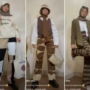Anti Suram, Inspirasi Pakai Outfit Serba Cokelat ala Hijabers yang Bisa Dicontek Nih