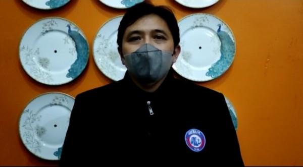 Media Officer Arema FC, Sudarmaji (foto: istimewa)
