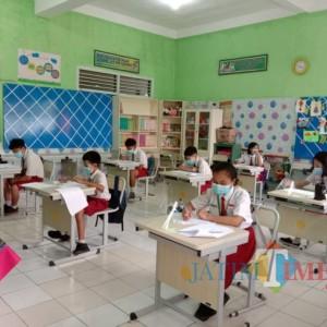 Capaian Vaksinasi Pelajar Masih 3,66 Persen, PTM di Kota Batu Tunggu Turun Level