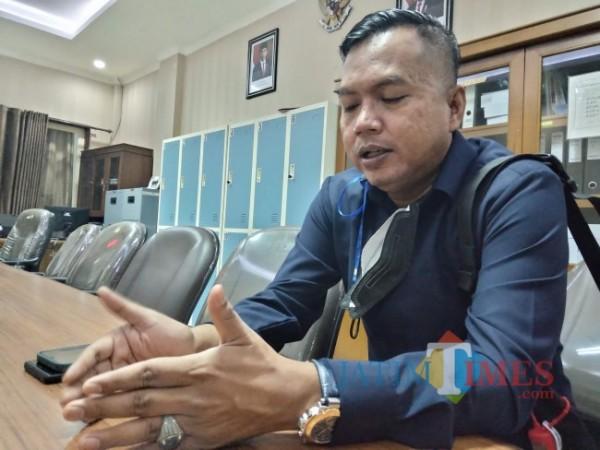 Anggota Fraksi Gerindra DPRD Kabupaten Malang Zia Ulhaq.(Foto: Riski Wijaya/MalangTIMES).