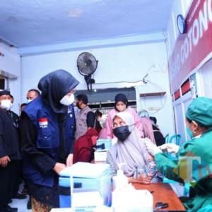 Gebrakan PDI Perjuangan Banyuwangi, Gelar Vaksinasi di 25 Kecamatan