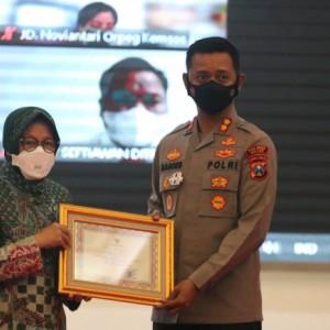Sukses Ungkap Korupsi Bansos, Kemensos Beri Penghargaan Polres Malang