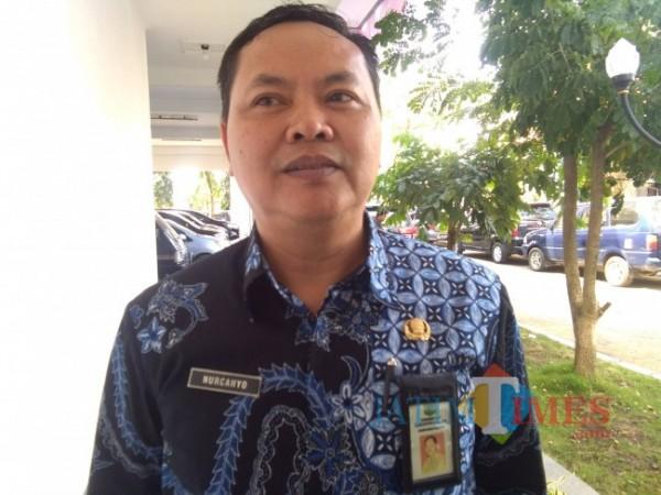 Kepala Dinas Peternakan dan Kesehatan Hewan Kabupaten Malang Nurcahyo.(Foto: Riski Wijaya/MalangTIMES).