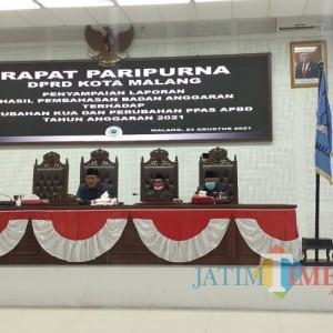 Perubahan KUA-PPAS APBD 2021 Masuk Pembahasan DPRD, Penanganan Covid-19 Kota Malang Diminta Jadi Prioritas