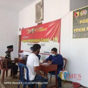 Vaksinasi Covid-19 di Sampang Merambah Tingkat Desa