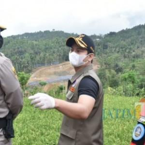 Bupati Trenggalek Pimpin Peledakan Tebing PSN Bendungan Bagong
