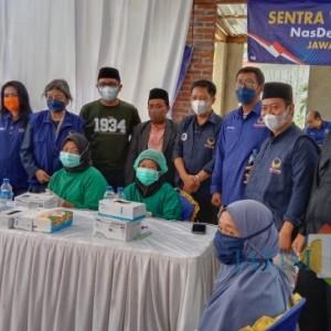 Berikan Bantuan Sembako, Konseling, dan Support Vaksinasi, Cara NasDem Bantu Pemerintah Tuntaskan Pandemi Covid-19
