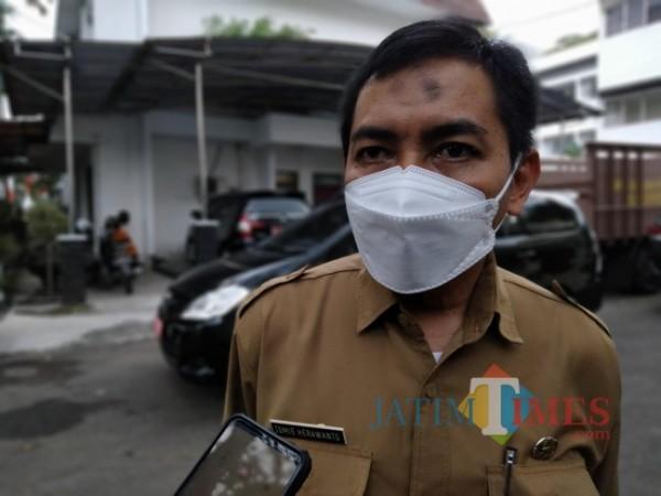 Kepala Bappeda Kabupaten Malang, Tomie Herawanto.(Foto: Riski Wiayanto/ MalangTIMES).