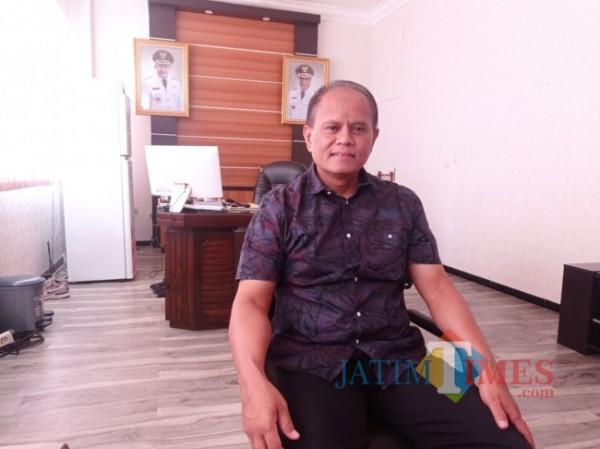 Kepala DLH Kota Malang, Wahyu Setianto (foto: Hendra Saputra/ MalangTIMES)