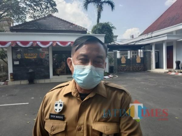 Kepala Disnaker Kabupaten Malang, Yoyok Wardoyo.(Foto: Riski Wijaya/MalangTIMES).
