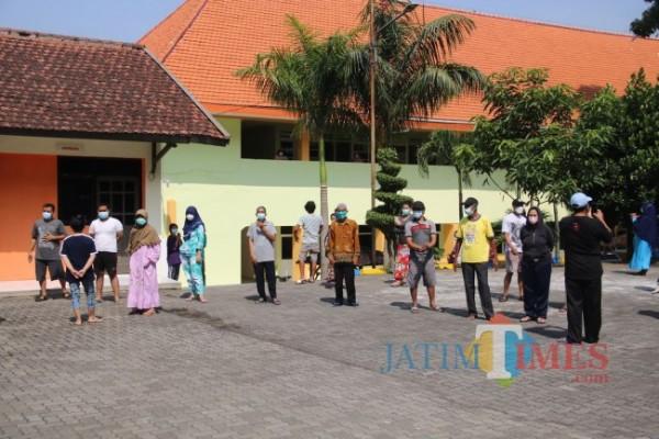 Salah satu tempat isoter di Kabupaten Malang.(Foto: Riski Wijaya/MalangTIMES).