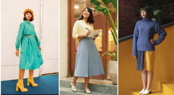 Inspirasi vintage outfit yang colorful. (Foto: Instagram @viratalisa).