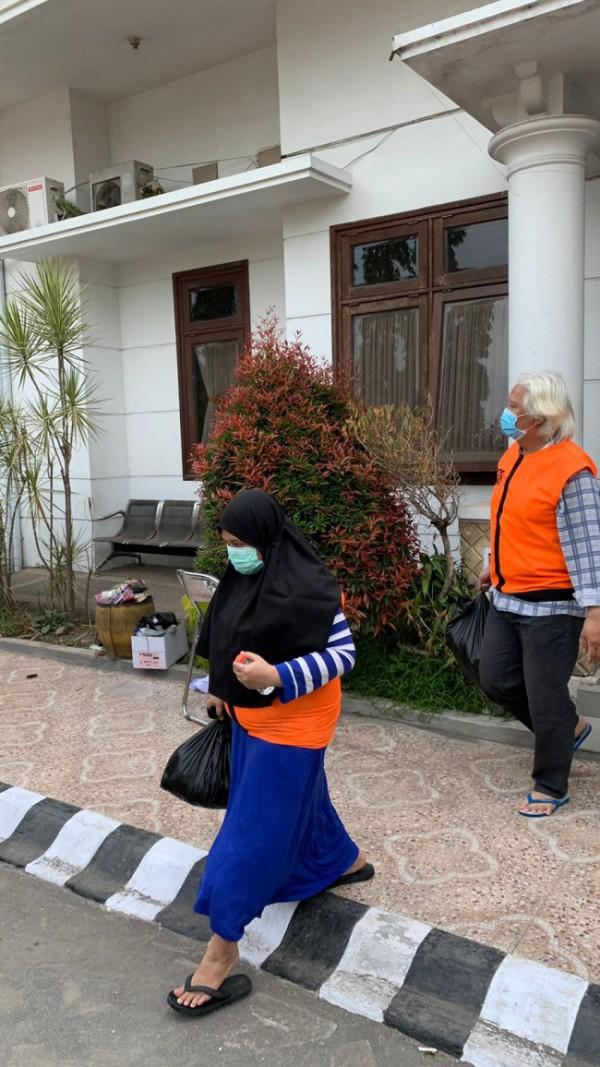 Pasangan suami istri yang dieksekusi Kejari Kota Malang (Ist)