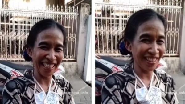 Perempuan mirip Jokowi (Foto: Instagram)