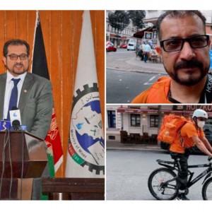 Kisah Eks Menteri Afghanistan yang Kini Banting Setir Jadi Kurir Pizza