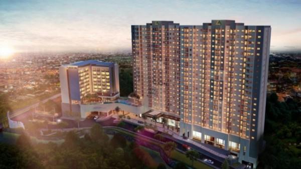 The Kalindra Apartment dan Hotel Aston yang siap dibangun (foto: The Kalindra)