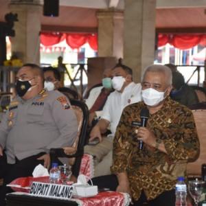 Masuk Zona Oranye, Pemkab Malang Siap Vaksinasi 50 Ribu Dosis Per Hari