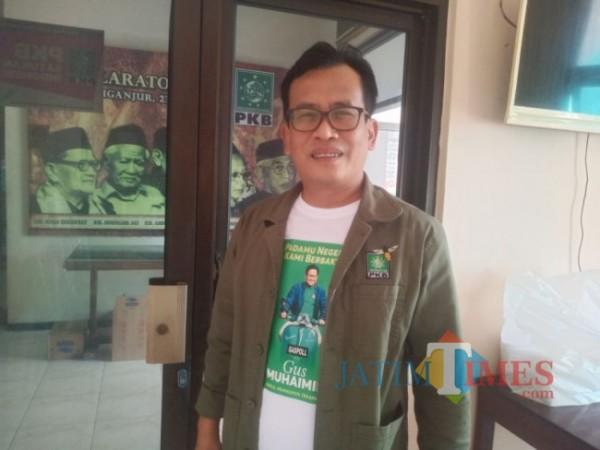 Ketua DPC PKB Tulungagung Adib Makarim. (Foto: Muhsin/TulungagungTIMES)