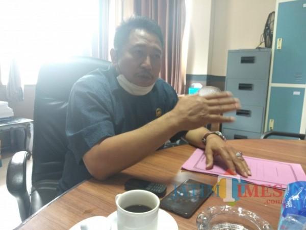 Ketua Komisi IV DPRD Kabupaten Malang, Moch Saiful Efendi. (Foto: Riski Wijaya/MalangTIMES).