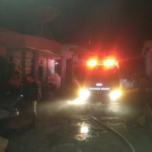 Diduga Akibat Putung Rokok, Home Industri Dupa di Wagir Terbakar