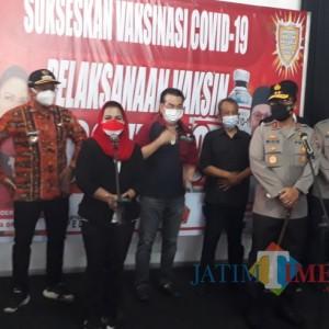 Genjot Target Pemerintah, Puti Guntur Soekarno Bantu Pasok 3 Ribu Dosis Vaksin di Sidoarjo