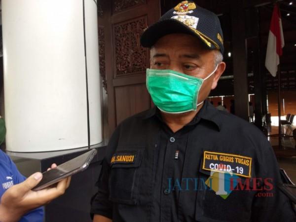 Bupati Malang, HM. Sanusi.(Foto: Riski Wijaya/MalangTIMES).