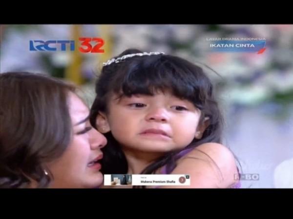 Salah satu scene Reyna dan Andin di sinetron Ikatan Cinta RCTI. (Foto: source google).