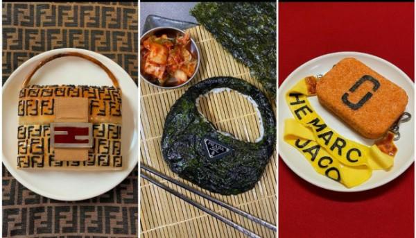 Tas Hermes hingga Prada terbuat dari makanan. (Foto: Instagram @dimda_).