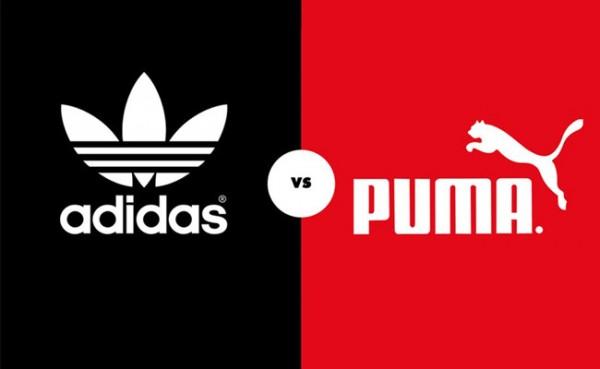 Adidas dan Puma (Foto: Hai Online)